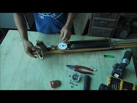 Making My Homemade Invert Roller Spear Gun