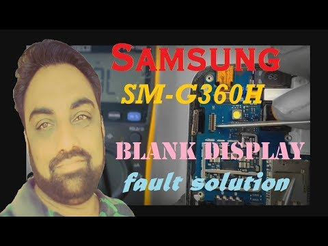 Samsung Galaxy Core Prime (SM-G360H) Blank Display Light Problems Solution By Maximum Technology
