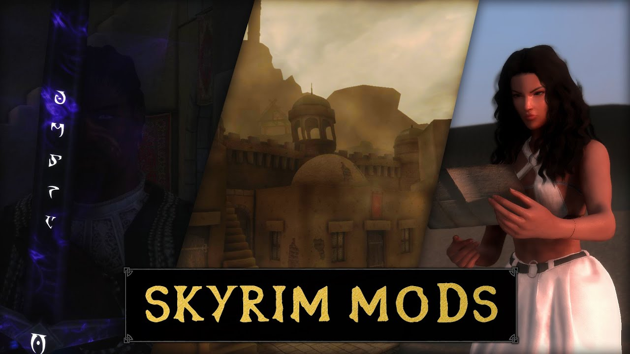 TRAVELING TO HAMMERFELL   The Gray Cowl Of Nocturnal New Lands Mod   (Skyrim Mods Classic)