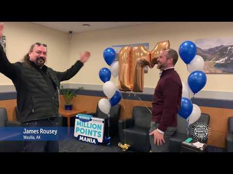Alaska USA Million Points Mania Grand Prize Winner!