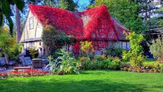 The Most Beautiful Gardens House in the World