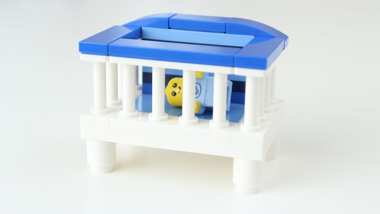 How To Build Lego Baby Boy S Crib Youtube