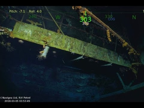 Breaking News - WW2 ship USS Lexington found after 76 years