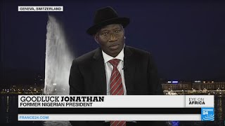 Video: Goodluck Jonathan talks of Boko Haram fight