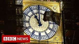 Brexit: UK to quit EU at 23:00 GMT - BBC News