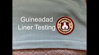 Guineadad Fleece Cage Liner Review