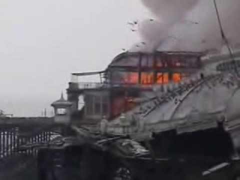 West Pier Burning