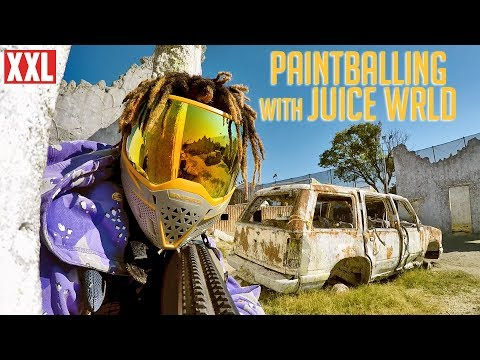 Juice Wrld's Intense Paintball Game With FaZe Adapt And Friends