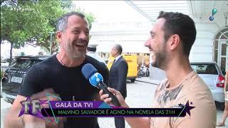 """""""não Sei Se Vai Rolar Química"""", Diz Malvino Salvador Sobre Possível Beijo Gay Em Caio Castro"""