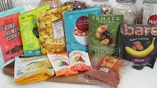 Healthy Snack Haul | Collab with Mind Over Munch