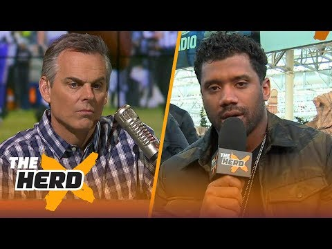 Russell Wilson on what to expect from Philly during Super Bowl LII | THE HERD