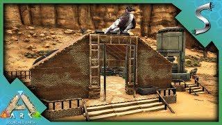 BUILDING THE BASE AND UPGRADING OUR STATIONS! - Ultimate Ark [E47 - Scorched Earth]