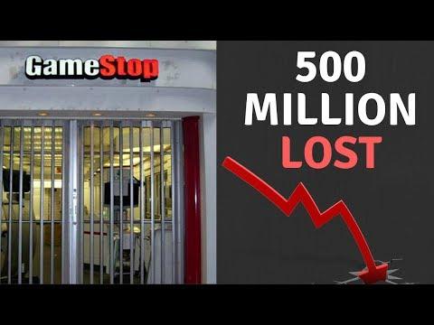Gamestop Is In Major Trouble
