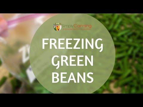 Freezing Green Beans