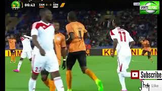 Video Gol Pertandingan Zambia vs Sudan