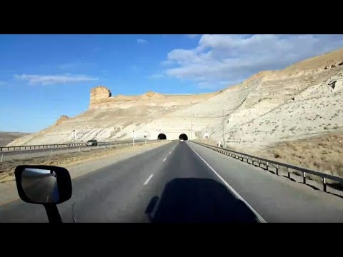 BigRigTravels LIVE! Sinclair to near Evanston, Wyoming-Interstate 80 West-Feb. 14, 2018