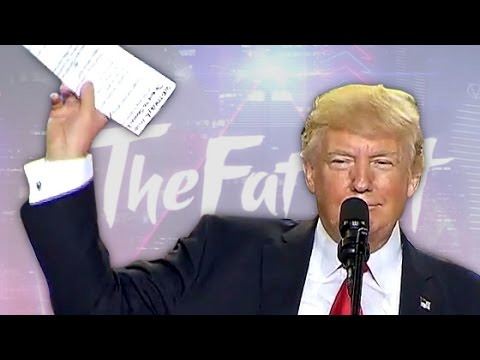 Donald Trump sings a poem (The Fat Wall)