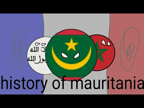 History of mauritanie (countryball)