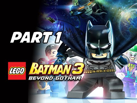 Lego Batman 3 Beyond Gotham Walkthrough Part 1 - Pursuers in the Sewers Let\'s Play Commentary