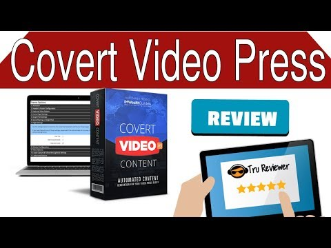 Covert Video Press 3.0 Review. http://bit.ly/2ZzwOCD