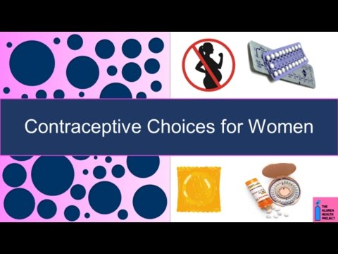 Types of Birth Control - Contraceptive Methods