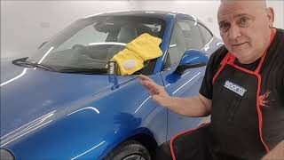 Porsche 991 Gtechniq Halo over ppf by The Devil is in the Detail Episode14