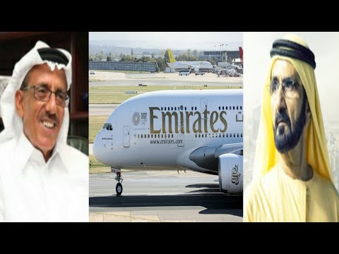 Crisis in Dubai Reason Emirates Huge Profit Drops 86%: Dubai's Leading Businessman Says