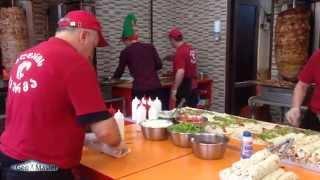 გლდანის შაურმა. Как делается самая лучшая Шаурма в мире-2!!! The best Doner Kebab in Tbilisi2