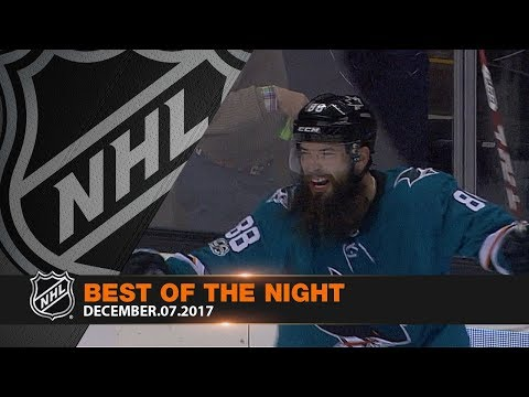 Sharks' comeback, Allen's shutout highlight captivating night