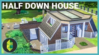 HALF DOWN HOUSE - The Sims 4 House Build