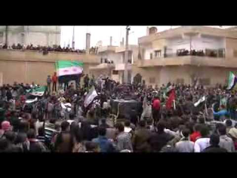 جمعة دعم  الجيش الحر درعا البلد ج7   13 1 2012