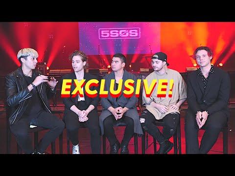 5SOS EXCLUSIVE INTERVIEW!!! (manila show 2019) - LA ALL DAY