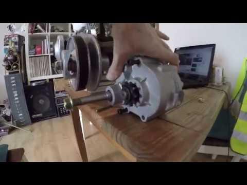 How to - Tav style reverse gearbox tips installation honda gokart
