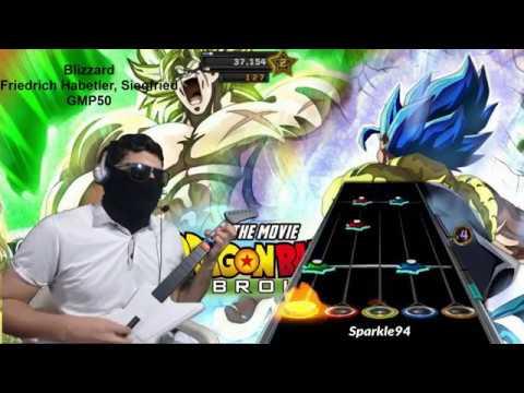Dragon Ball Super Movie - BLIZZARD (Broly Vs. Gogeta) | Epic Rock Cover Con VOZ | [CLONE HERO/GH3] 🎸
