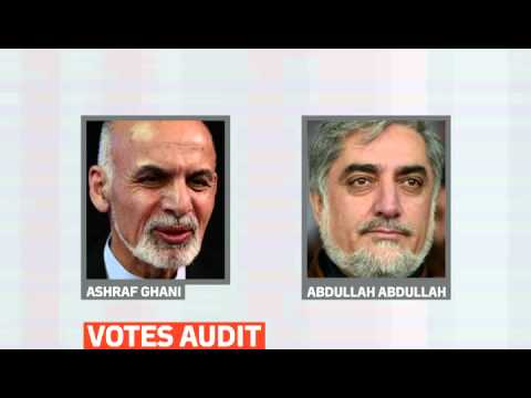 mitv - An audit of votes from Afghanistan's disputed presidential election