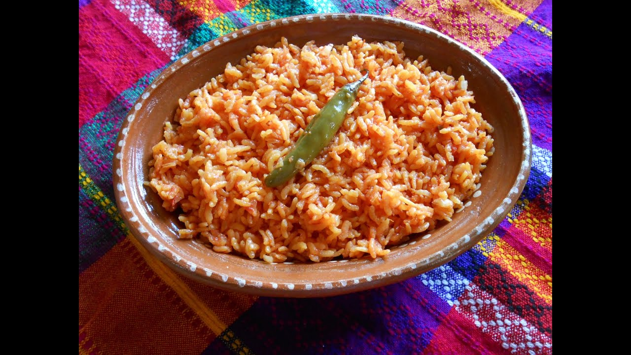 Mexican Red Rice. Mexican Red Rice Recipe - YouTube