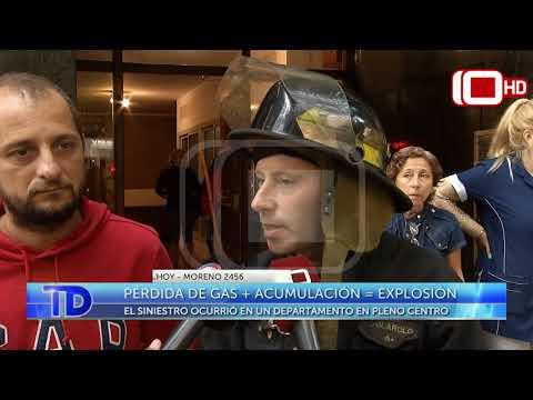 Se produjo una explosión en un departamento del centro de Mar del Plata