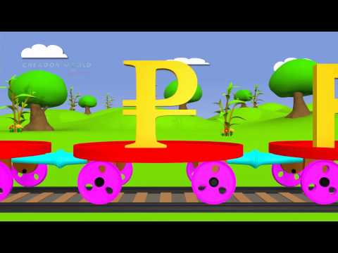 Teach Curreny Symbols | Currency Train For Kids | Creador Nursery Rhymes