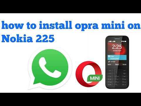 How To Install Opera Mini In Nokia 215, 220 ,225 And 230|Vedant Sharma|