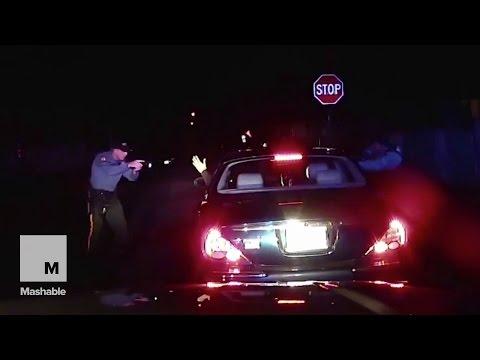 Dashcam video shows New Jersey cops shooting black man  | Mashable