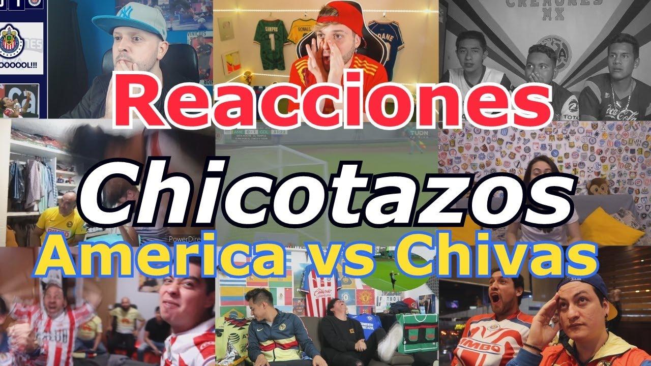 Reacciones: Chicotazos - America vs Chivas - Guardianes 2020 - 4tos de final -Liguilla