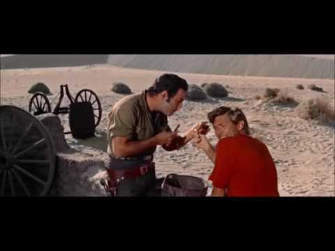 Osamělý jezdec (1959) - holící scéna
