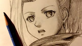 ASMR | Pencil Drawing 6 | Ino (Request)