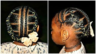 After Wash Braided Hairstyle | Giveaway Winners | Children's Natural Hair Care