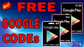 new proof how to get free google play codes or google play gift and free gift card google play