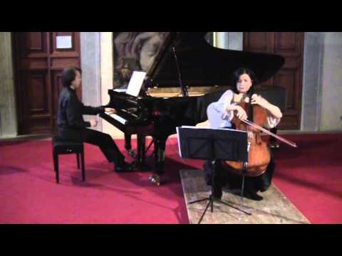 C.Debussy Sonata for cello and piano, Maurizio Baglini and Silvia Chiesa