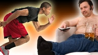 Athlete vs Couch Potato - Do we see the world at different speeds? - Earth Juice - Earth Unplugged