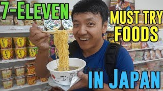 Must Try 7-ELEVEN Foods in Japan: BEST Instant Noodles!