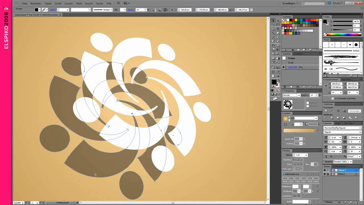 Hướng dẫn thiết kế logo bằng AI (illustrator) 3