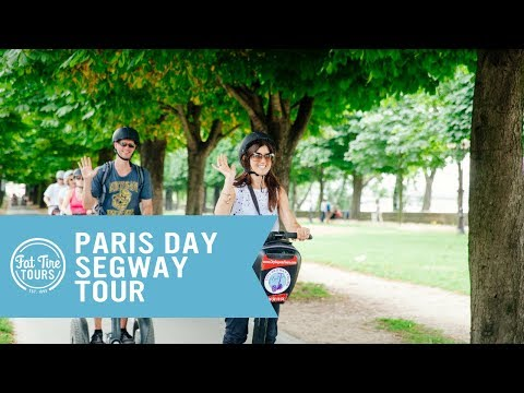 Glide Through Paris on the Day Segway Tour with Fat Tire Tours!
